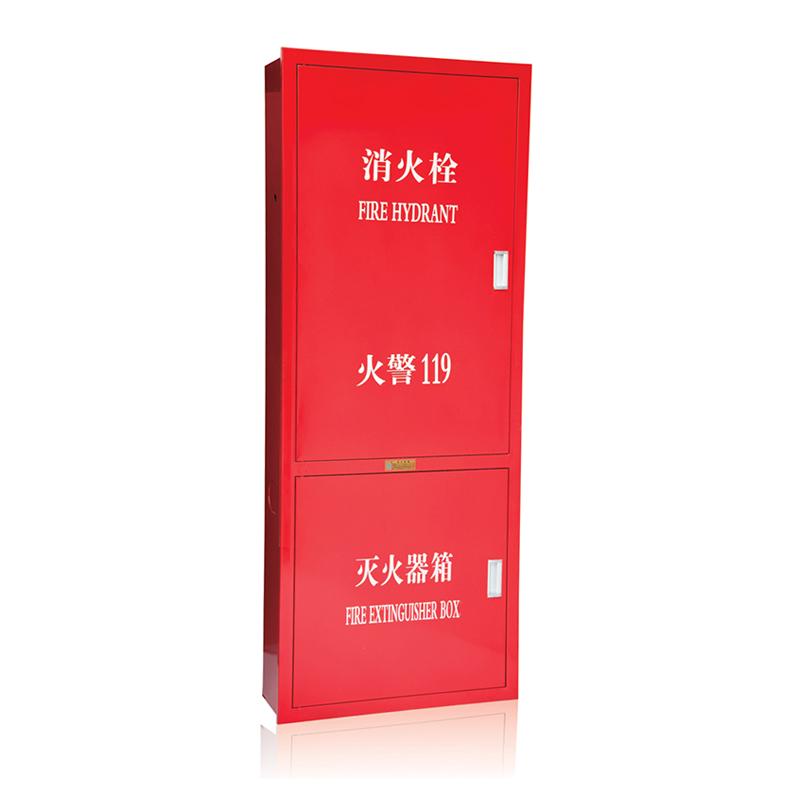 全钢制消火栓箱1800x700x240-02