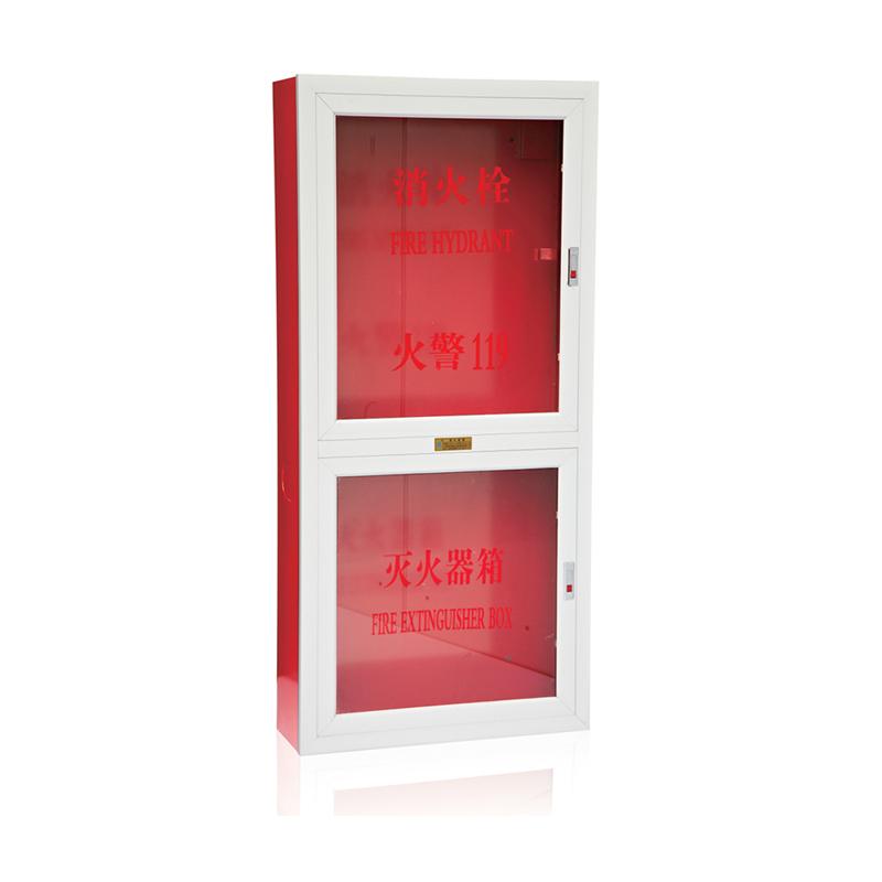 铝合金门框消火栓箱1800x700x240